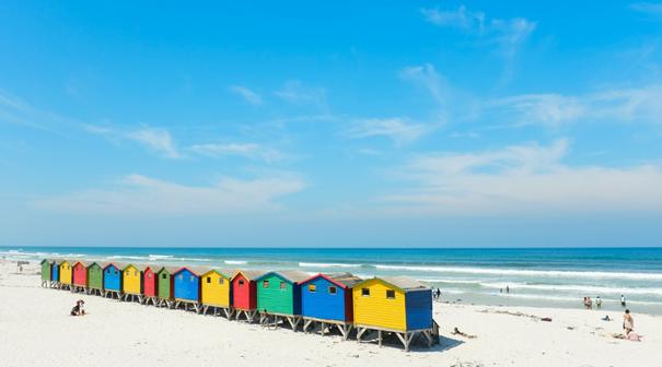 Muizenberg Beach - Tagestour Kap der Guten Hoffnung