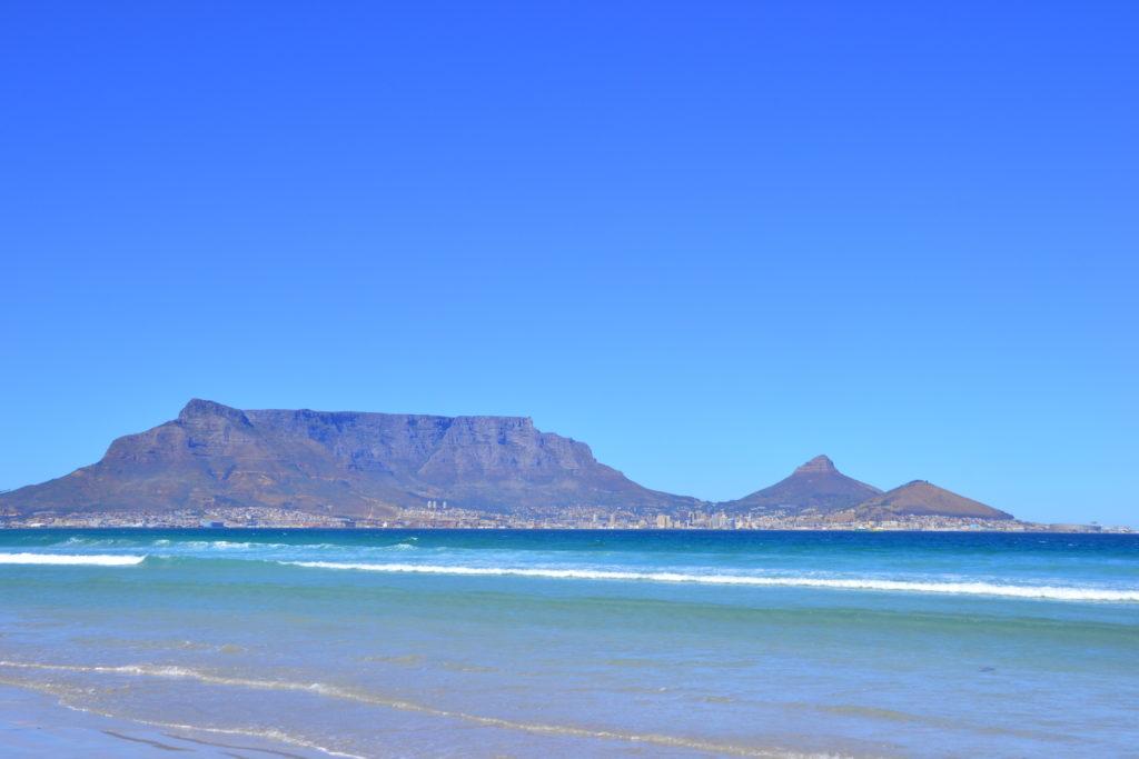 Reise nach Kapstadt - Blouberg Beach