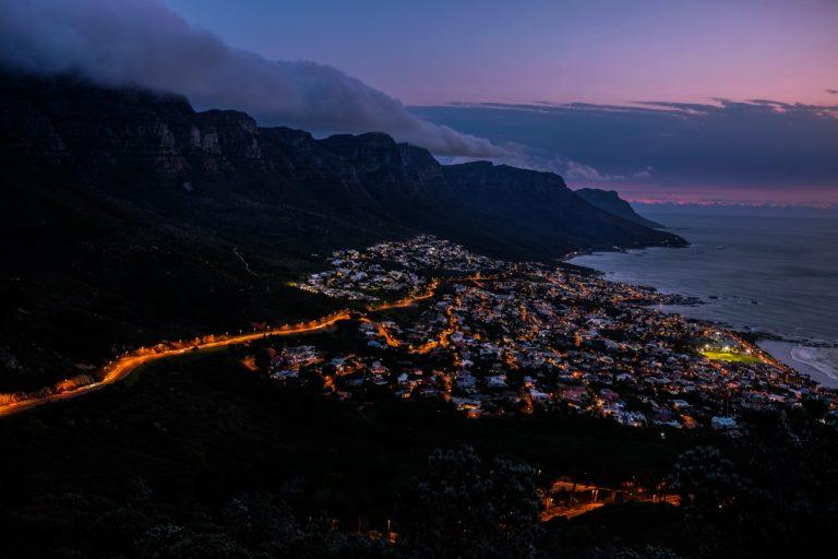 Reise nach Kapstadt - Campy bay