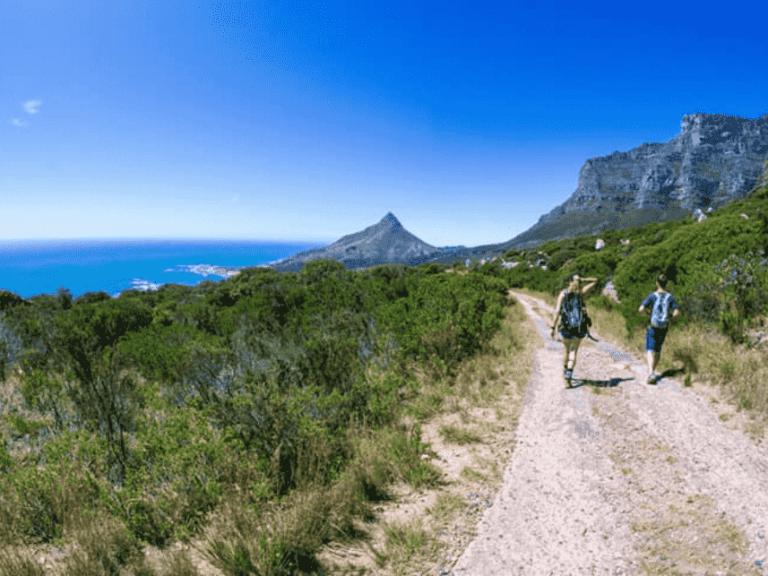 Wandern in Kapstadt - Pipe Track
